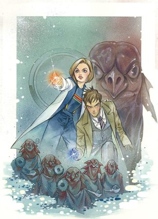 DOCTOR WHO #1 (FORBIDDEN PLANET EXCLUSIVE MOMOKO VIRGIN VARIANT)