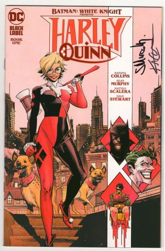 BATMAN WHITE KNIGHT: HARLEY QUINN #1 MAIN (SIGNED BY SEAN MURPHY & KATANA COLLINS)