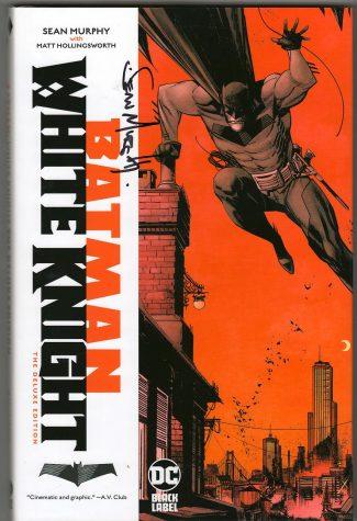 BATMAN: WHITE KNIGHT DELUXE HC (SIGNED SEAN MURPHY)