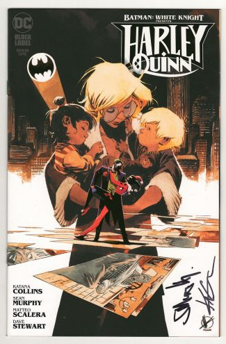 BATMAN WHITE KNIGHT: HARLEY QUINN #1 SCALERA (SIGNED BY SEAN MURPHY & KATANA COLLINS)