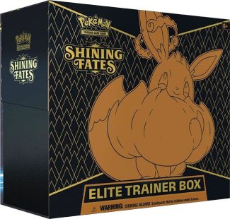 Pokemon TCG: Shining Fates Elite Trainer Box (ships Random 1 Of 2)