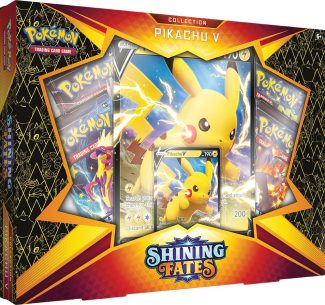 Pokemon TCG: Shining Fates Collection–Pikachu V (ships Random 1 Of 2)