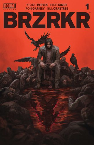 BRZRKR #1 (BERZERKER) (JETPACK COMICS SKAN SRISUWAN EXCLUSIVE COVER) (FINE + Or – Condition)