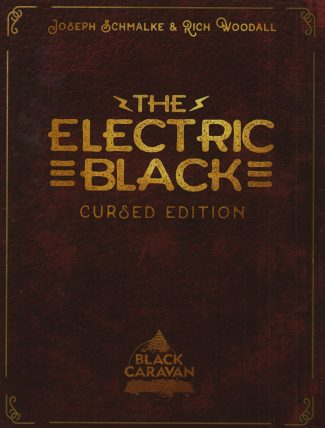 ELECTRIC BLACK TP VOL 01 (ELECTRIC BLACK CURSED ED MAGAZINE FORMAT)