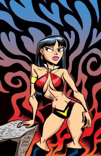 Vampirella Valentine's Day (JIM LAWSON JETPACK EXCLUSIVE)