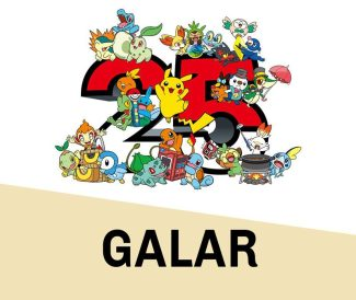 Pokemon 25th Anniversary Card Set – Galar (March 5th)