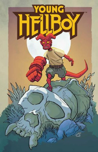 YOUNG HELLBOY #1 (DUAL SIGNED JETPACK COMICS LIMITED EDITION EXCLUSIVE)