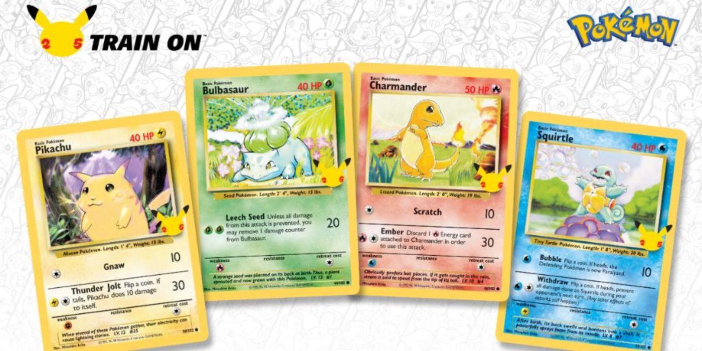 Pokemon 25th Anniversary Card Set