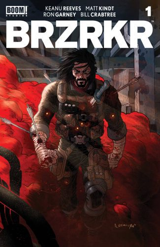 BRZRKR (BERZERKER) #1 (CVR A GRAMPA CVR)