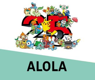 Pokemon 25th Anniversary Card Set – Alola