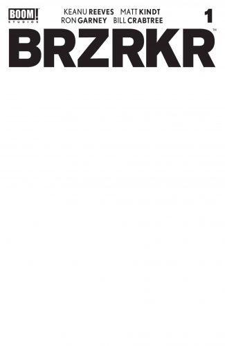 BRZRKR (BERZERKER) #1 (CVR E BLANK SKETCH VAR)