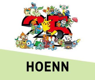 Pokemon 25th Anniversary Card Set – Hoenn (Early May)