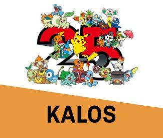 Pokemon 25th Anniversary Card Set – Kalos