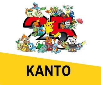 Pokemon 25th Anniversary Card Set – Kanto (October 8th)