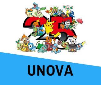 Pokemon 25th Anniversary Card Set – Unova (Early April)