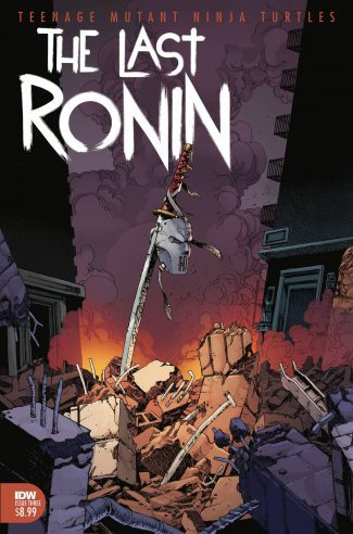 TMNT Last Ronin #3 (A Cover)