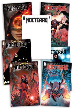 NOCTERRA #1 (A – G: 7 Cover Set)