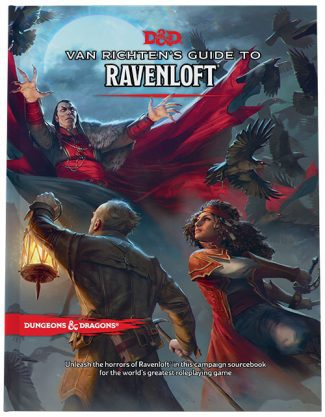VAN RICHTEN'S GUIDE TO RAVENLOFT (REGULAR COVER)