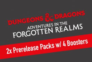 2x MTG – Dungeons & Dragons: Adventures In The Forgotten Realms Prerelease Packs With 4 Boosters