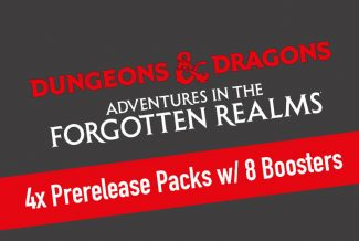 4x MTG – Dungeons & Dragons: Adventures In The Forgotten Realms Prerelease Packs With 8 Boosters