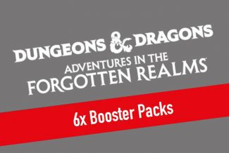MTG – Dungeons & Dragons: Adventures In The Forgotten Realms 6x Booster Packs