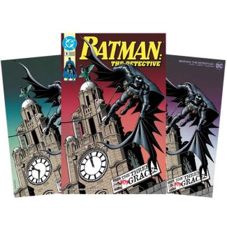 3x BATMAN THE DETECTIVE #1 (BRIAN BOLLAND VIRGIN RETRO & PUNCHLINE EXCLUSIVE)