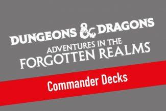 MTG – Dungeons & Dragons: Adventures In The Forgotten Realms Commander Decks