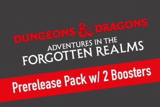 MTG – Dungeons & Dragons: Adventures In The Forgotten Realms Prerelease Pack With 2 Boosters