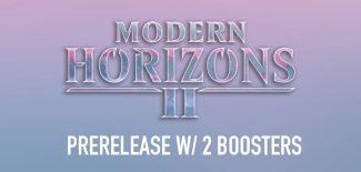 Modern Horizons 2 Prerelease W/ 2 Boosters