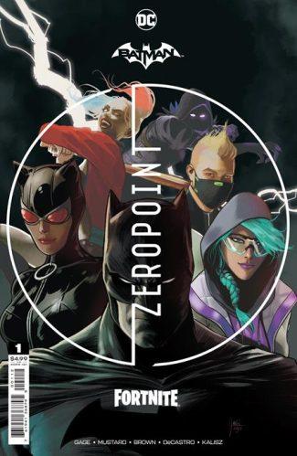 BATMAN FORTNITE ZERO POINT #1 (second Printing)