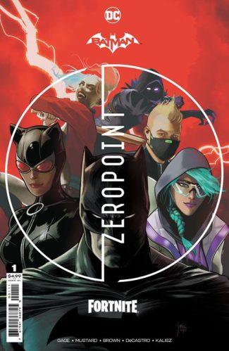 BATMAN FORTNITE ZERO POINT #1 (A First Print)