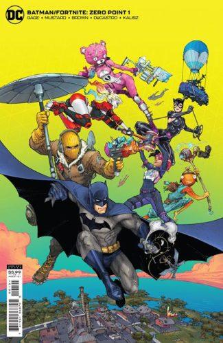BATMAN FORTNITE ZERO POINT #1 (B First Print)