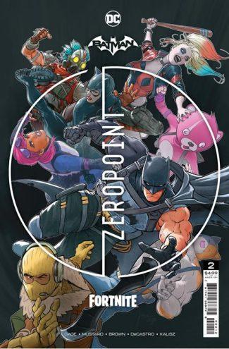 BATMAN FORTNITE ZERO POINT #2 (second Print)