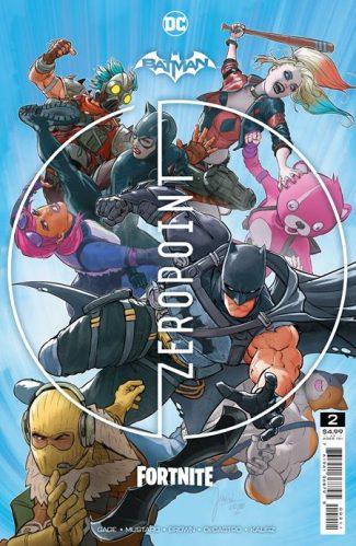 BATMAN FORTNITE ZERO POINT #2 (A First Print)