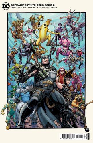 BATMAN FORTNITE ZERO POINT #2 (B First Print)