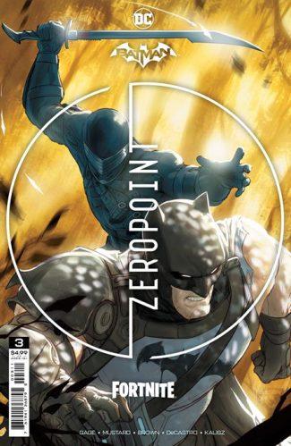 BATMAN FORTNITE ZERO POINT #3 (A First Print)
