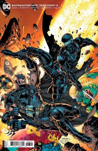 BATMAN FORTNITE ZERO POINT #3 (B First Print)