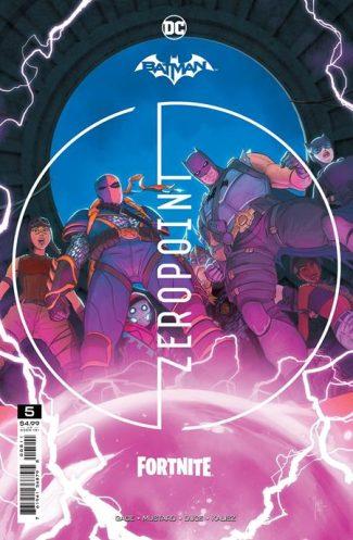 BATMAN FORTNITE ZERO POINT #5 (A First Print)
