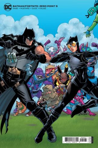 BATMAN FORTNITE ZERO POINT #5 (B First Print)