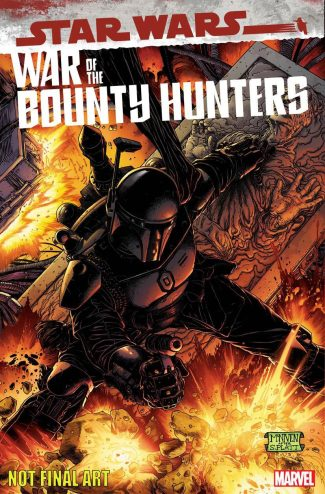 STAR WARS WAR OF THE BOUNTY HUNTERS ALPHA #1 (1/50 BLACK ARMOR Steve McNiven Cover)
