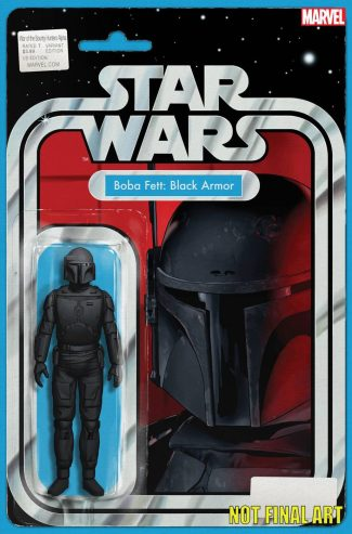 STAR WARS WAR OF THE BOUNTY HUNTERS ALPHA #1 (Action Figure Cover)