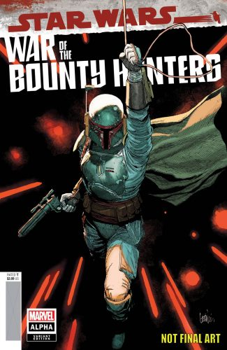 STAR WARS WAR OF THE BOUNTY HUNTERS ALPHA #1 (Lenil Yu Cover)