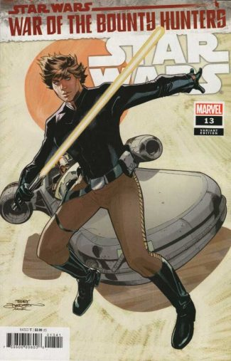 Star Wars #13 (1/25 Dodson Variant) War Of The Bounty Hunters Prelude