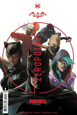 BATMAN FORTNITE ZERO POINT #1 (third Printing)