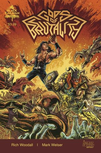GODS OF BRUTALITY #1 (A Cover)