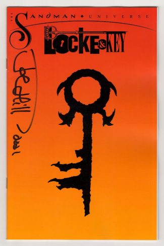 JOE HILL SIGNED –  LOCKE & KEY SANDMAN HELL & GONE #1 (JETPACK COMICS LIMITED EDITION FOIL EXCLUSIVE )