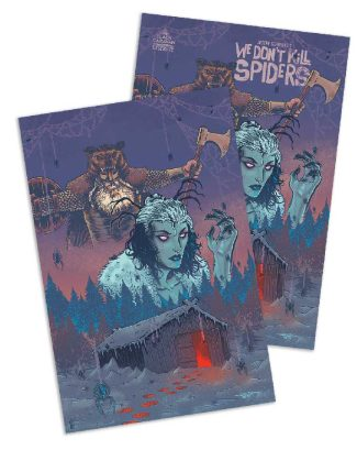 We Don't Kill Spiders (2 Pack: Jetpack Exclusive & Virgin Rich Woodall Cover)