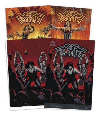 GODS OF BRUTALITY #1 (4-pack: A, 1/10, JP, JP Virgin)