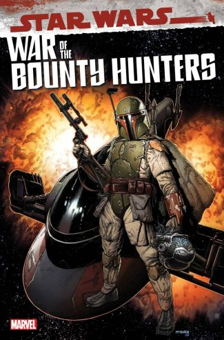 Star Wars War Of The Bounty Hunters #1 (Steve McNiven A Cover)