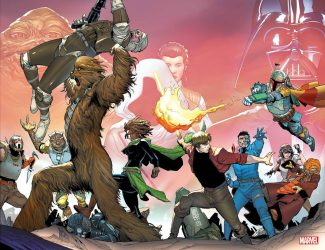 Star Wars War Of The Bounty Hunters #1 (Camuncoli Wrap Around Variant)